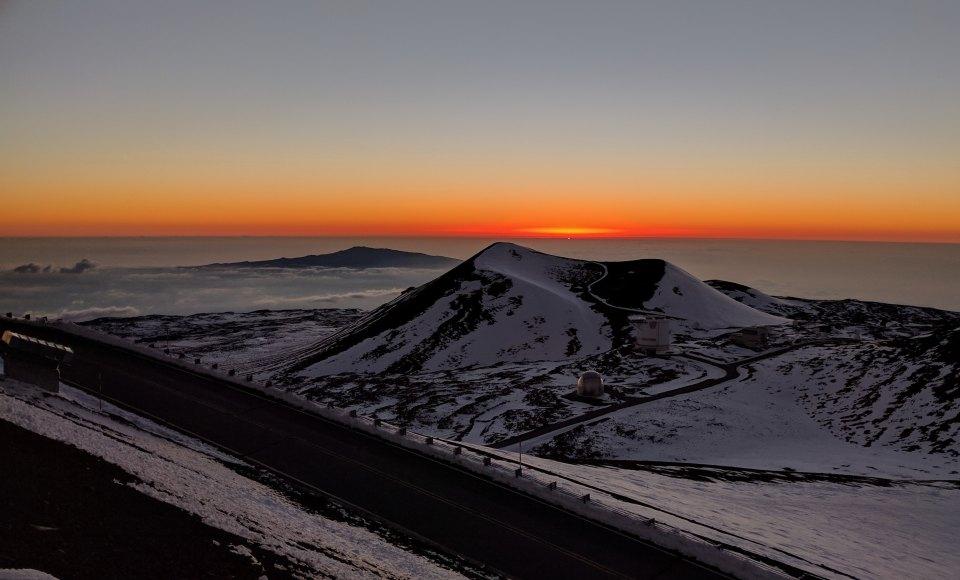 Céu Mauna Kea