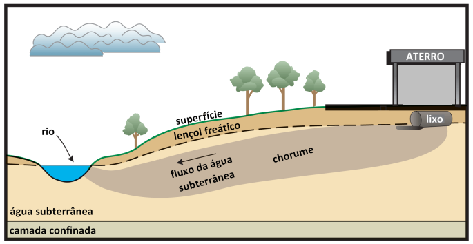 contaminaçao