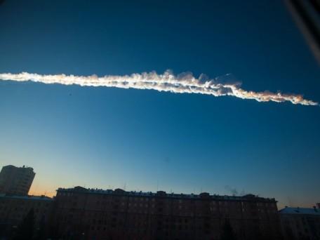 meteoro de tcheliabinsk rastro